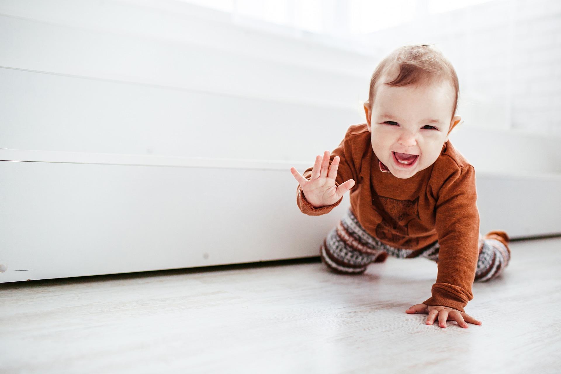 сетивата на бебето